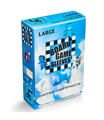 Board Game Sleeves: Large 59x92mm (50ct)