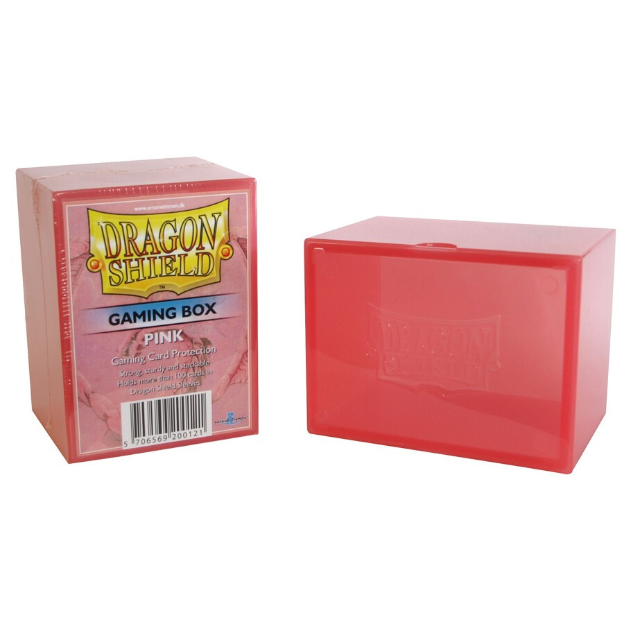 Deck Box: Dragon Shield: Gaming Box Pink