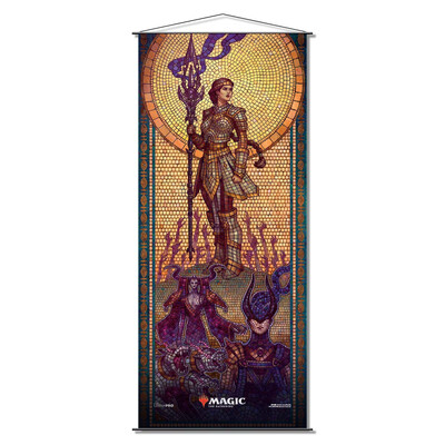 Magic the Gathering: Theros Beyond Death Wall Scroll - Elspeth Conquers Death