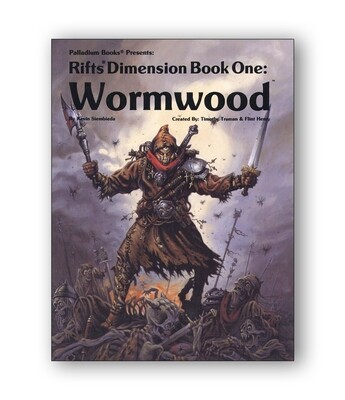 Rifts: Dimension Book One: Wormwood (used)