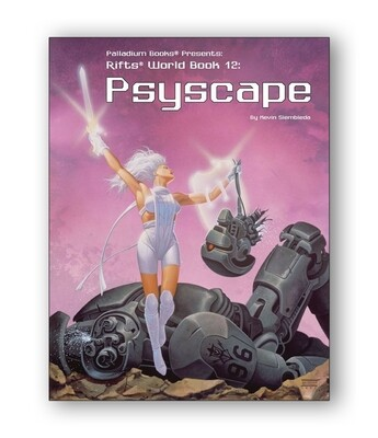 Rifts: World Book 12: Psyscape (used)