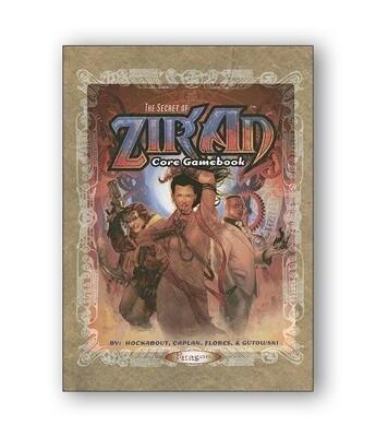 The Secret Of Ziran: Core Gamebook