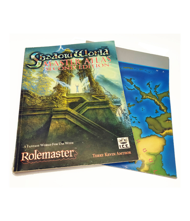 Rolemaster: Shadow World: Master Atlas 2e (used)