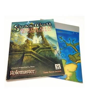 Rolemaster: Shadow World: Master Atlas 2e (used)