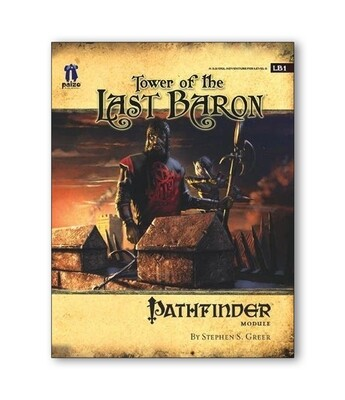 Pathfinder: M LB1 Tower Of The Last Baron (used)
