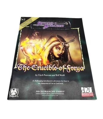 d20: Sword & Sorcery: W1 The Crucible Of Freya (used)