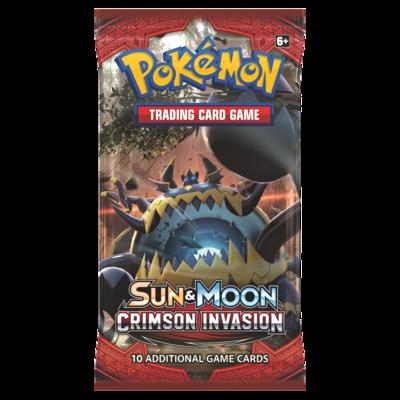 Pokemon: S&M : Crimson Invasion Booster Pack