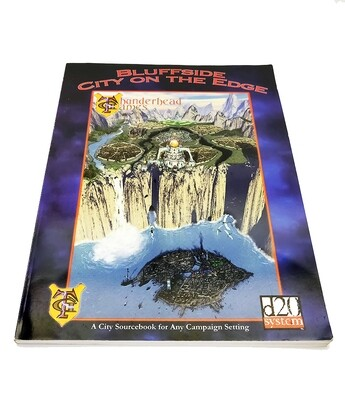d20: Bluffside City On The Edge (used)