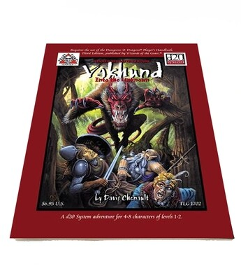 d20: Vakhund: Into The Unknown (used)