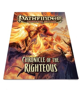 Pathfinder: CS Chronicle Of The Righteous (used)