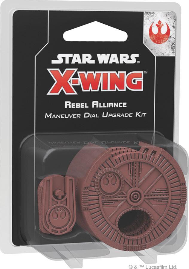 Star Wars X-Wing: 2nd Edition - Rebel Alliance Maneuver Dial Upgrade Kit