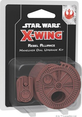 Star Wars X-Wing: 2nd Edition - Rebel Alliance Maneuver Dial Upgrade Kit