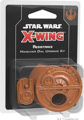 Star Wars X-Wing: 2nd Edition - Resistance Maneuver Dial Upgrade Kit