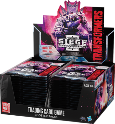Transformers: Seige II War for Cybertron Booster Box