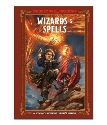 D&D 5e Young Adv: Wizards & Spells