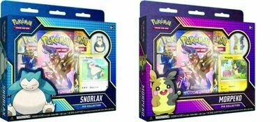 Pokemon: Snorlax/Morpeko Pin Collection
