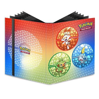 Binder: Ultra Pro: 9 Pocket PRO-Binder Pokemon S&S Galar Starters