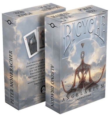 Bicycle Playing Cards: Angelarium Emanations