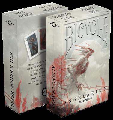 Bicycle Playing Cards: Angelarium Watchers