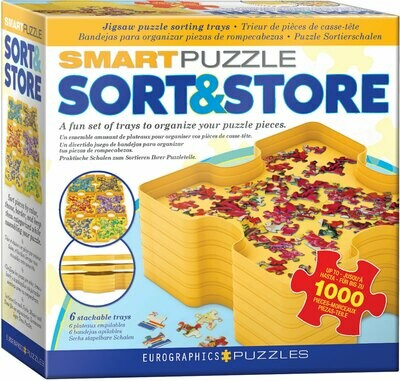 Smart Puzzle Sort & Store Trays