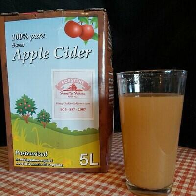 Sweet Apple Cider 5L