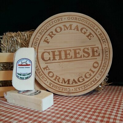 Goat Cheddar Cheese - St Clements Goat Dairy approx .25 kg bricks