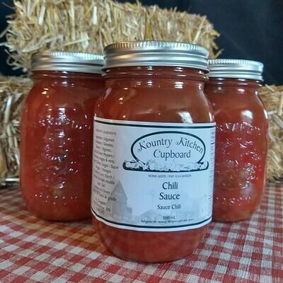 Chili Sauce - 500 ml - Kountry Kitchen Cupboard