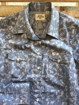 Camicia donna Camo