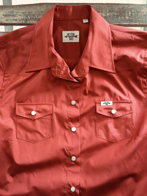 Camicia donna Rust