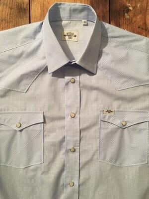 Camicia uomo-MICRO JACQUARD