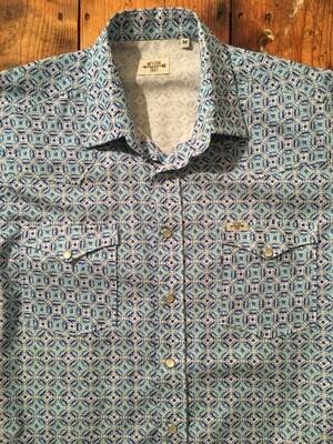 Camicia uomo-BLUE PRINT