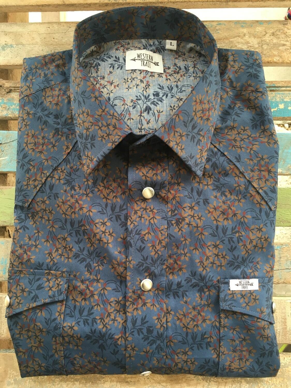 Camicia uomo-FLOWERS