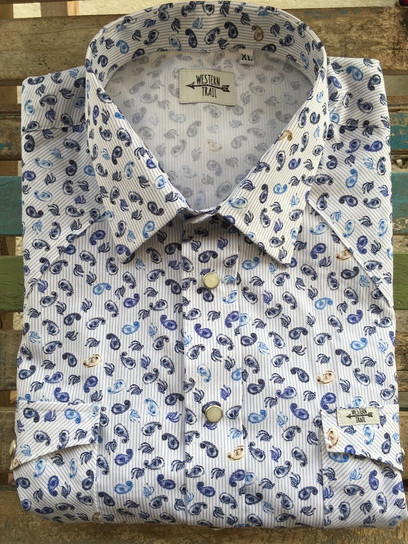 Camicia uomo-STRIPES JACQUARD
