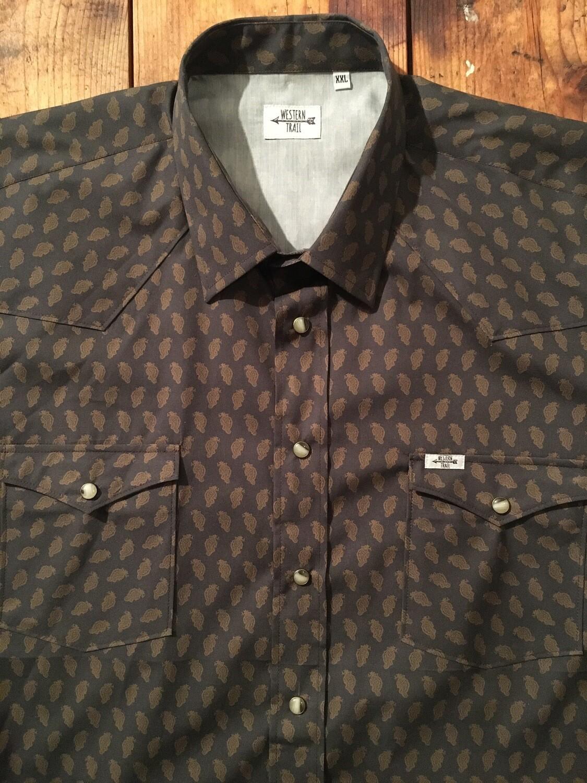 Camicia uomo-JACQUARD VINTAGE