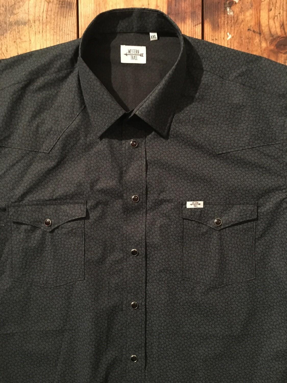 Camicia uomo-MICRO FLOWER