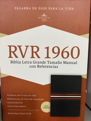 RVR 1960 Biblia Letra Grande Ind Zip