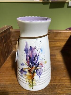 DC Iris Vase