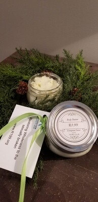 Body Butter, Evergreen Forest