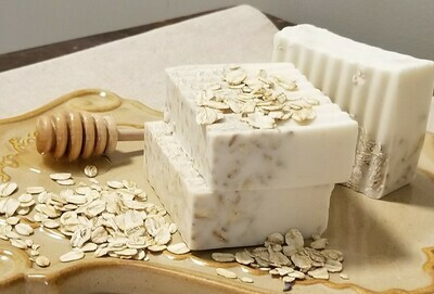 Goats Milk Soap, Honey Oatmeal