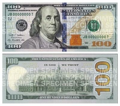 $100 dollars