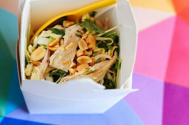 THE SHEPPEY PAD THAI WITH CHICKEN