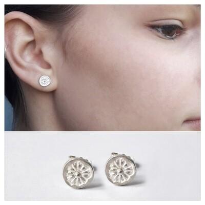 Boucles d'oreilles POPPY argent 925
