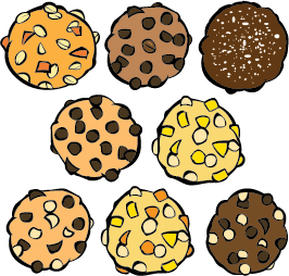 8 Cookies Online for Local Pickup/Delivery