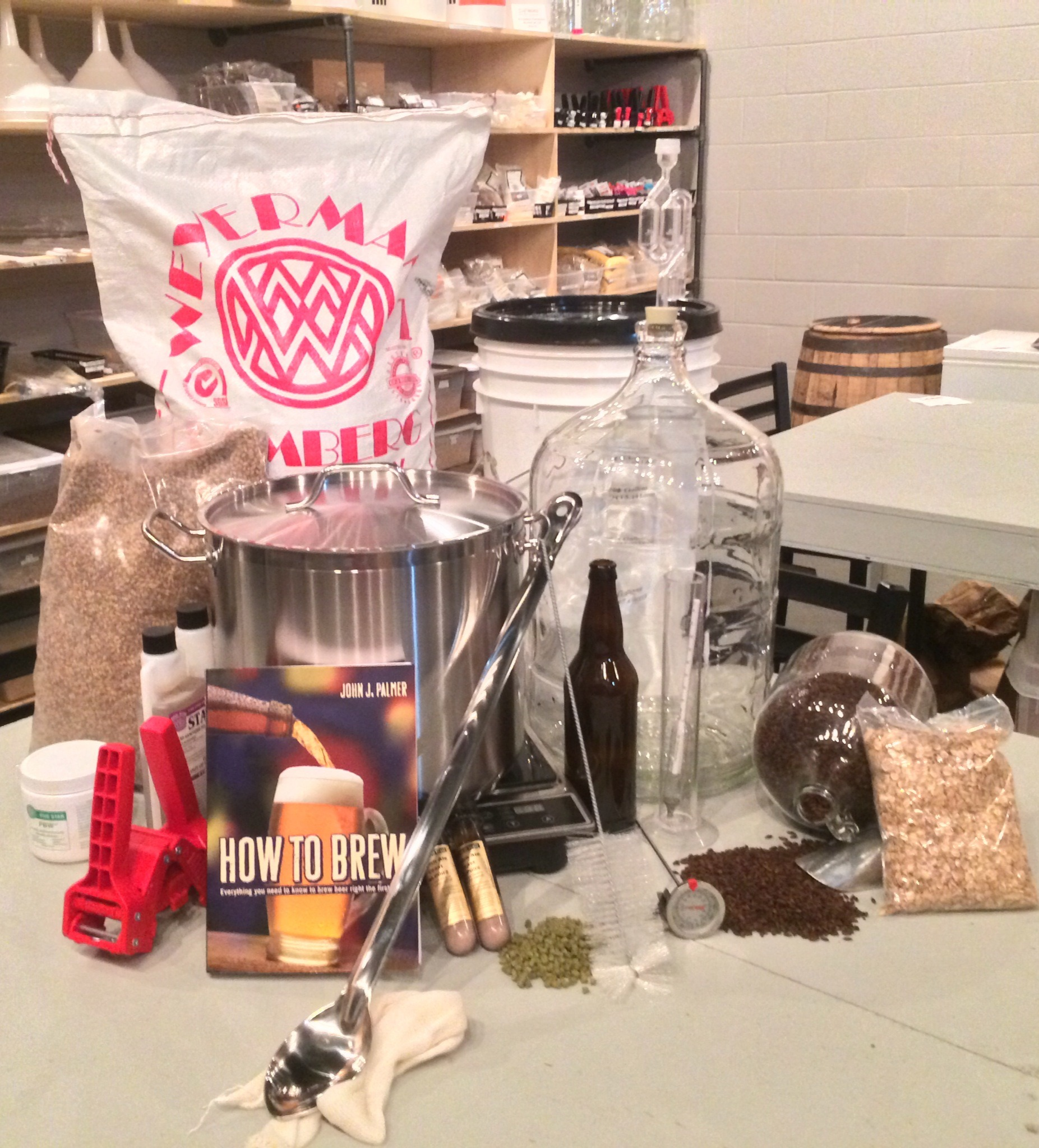 Home Brewing 101 Tuesday,  December 1st at 6pm