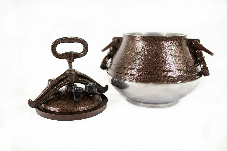 Afghan pressure cooker M8 - Capacity 7.1-quart (6.7 liter)