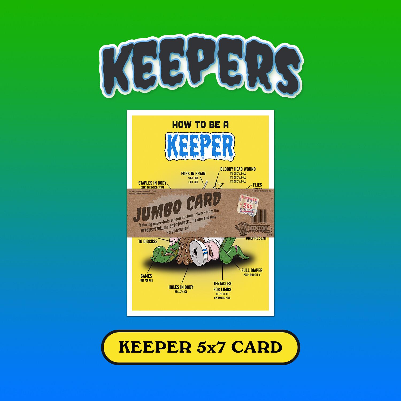 Keeper Jumbo Card