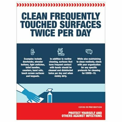Clean Frequently Touched Surfaces