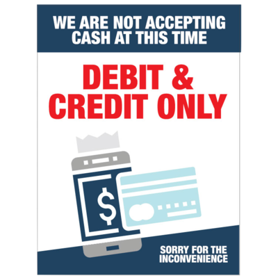 Debit and Credit Only