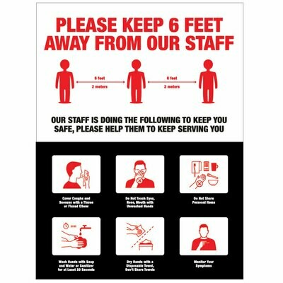 Staff Social Distancing