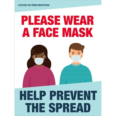 Please Wear a Face Mask -Prevention